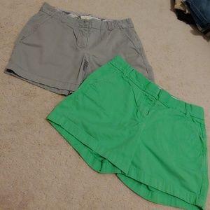 J. Crew womens Chino shorts bundle